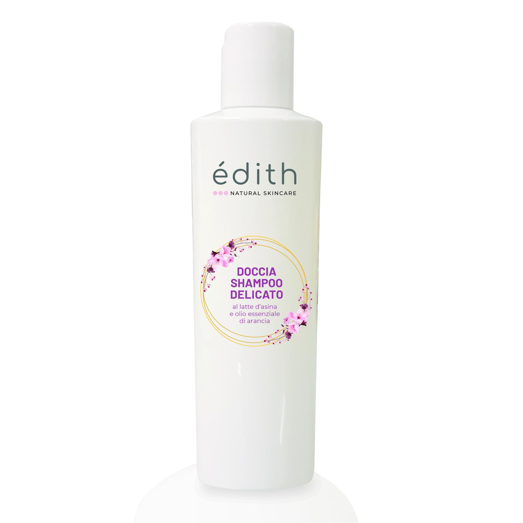 Doccia shampoo delicato al latte d'asina