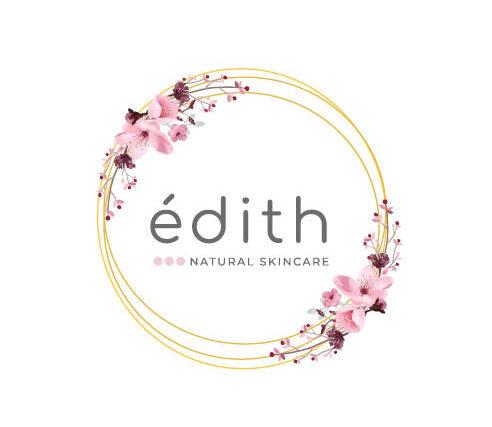 logo edith natural skincare edithcosmesi cosmetici a base di zafferano e latte d'asina