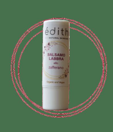 balsamo labbra edithcosmesi cosmetici a base di zafferano e latte d'asina