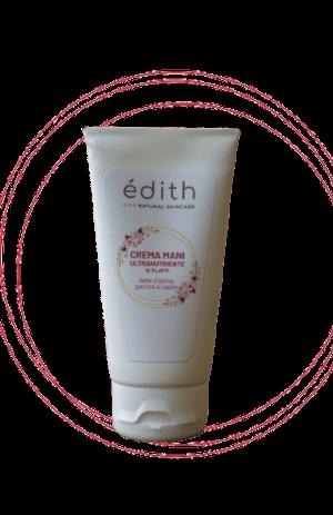 edith crema mani edithcosmesi cosmetici a base di zafferano e latte d'asina