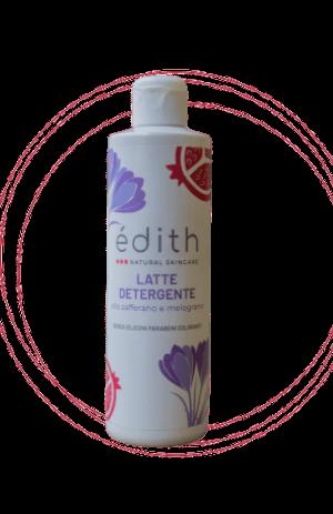 latte detergente edithcosmesi cosmetici a base di zafferano e latte d'asina