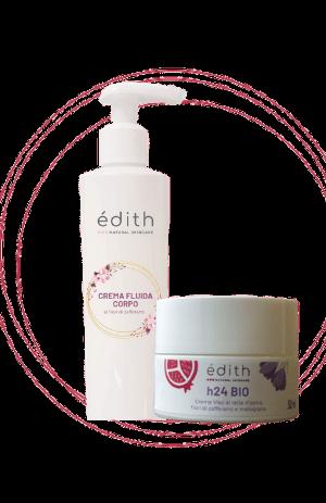 idea regalo crema viso e crema corpo edith_cosmesi_cosmetici_naturali_a_base_di_zafferano_e_latte_dasina