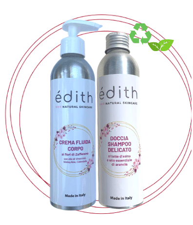 doccia shampoo_crema corpo edith cosmesi bio plastic free